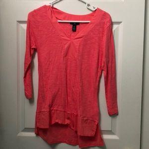 Gap Pink spring Tunic! Size XS
